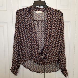 🎃4/$20 Sophie Rue Small Scoop Front Blouse Sr1314
